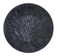 """Maison Lalique : Assiettes """"Algues"""""""