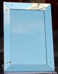 1970' Miroir Venise Art Deco 107 X 152 CM