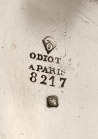 ORFEVRE ODIOT - BOITE EN ARGENT - XIXè