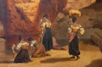 Grand Paysage du sud de L'Italie, Par Alphonse Reimers 1878