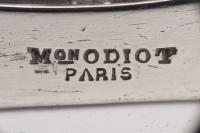 Orfèvre ODIOT - Paire de Grands Candélabres en argent massif XIXè
