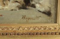 Henri Regnault (1843-1871) - Jeune femme Orientale