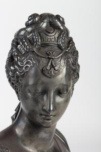Sculpture de Diane en régule 19e siècle
