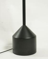Modern metal painted floor lamp.