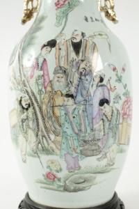 Lampe chinoise du début du XXème siècle