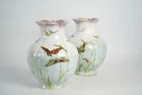 Théodore deck ( 1823 - 1851 ) - paire de vases