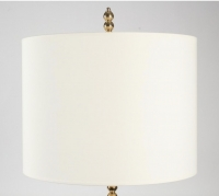 Pair of Contemporary Brass Pearls Floor Lamps