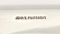 Boite couverte en argent par JEAN E.PUIFORCAT