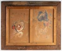 Tableau de Fortuney signé. XXème
