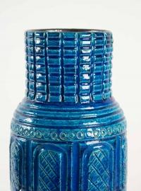 Pol Chambost (1906 - 1983) - Grand vase cylindrique en céramique, année 50