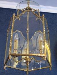 A Louis XV style lantern.
