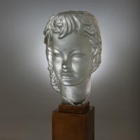 Lucien Lafaye - Buste éclairant – Vers 1950