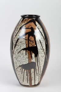 DANIEL DE MONTMOLLIN - grand vase africaniste