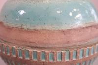 vase bleu turquoise , Jean Besnard (1889 -1958)