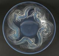 "René Lalique (1860-1945) Molded Opalescent glass ""Calypso"" bowl"