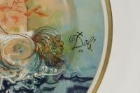 Salvatore Dali, plat en céramique.