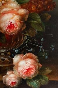 Vase de fleurs de John Thorpe, XXème