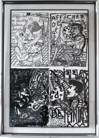 Robert COMBAS, Affiche de Peintre, 1993