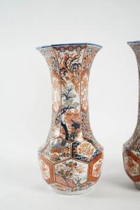 Paire de vases Imari - Japon