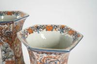 An Imari pair of vases- Japan XIXth century
