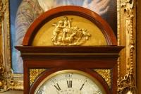 Pendule Cartel en acajou du XIXème