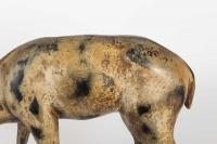Sculpture cerf en bronze signé de Ihô