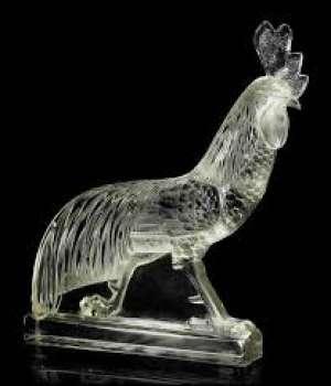 "RENE LALIQUE (1860-1945) ""Coq de jungle"""