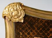 Bureau style Louis XV, XIXème.