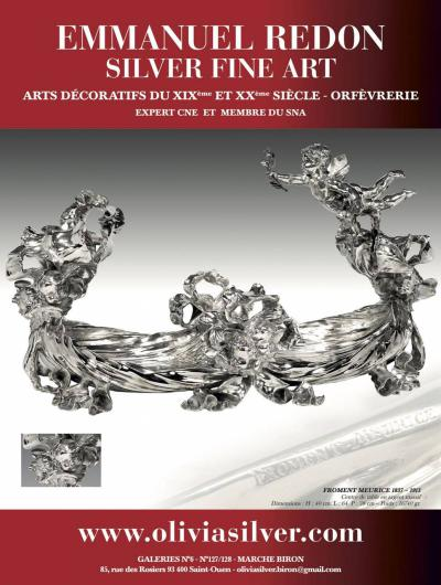 Exposition Galerie Emmanuel Redon Silver Fine Arts||