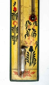 Baromètre-thermomètre d'époque Louis XVI (1774 - 1793).