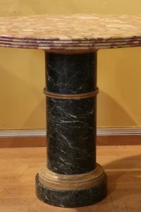 Guéridon en marbre du XIX ème siècle