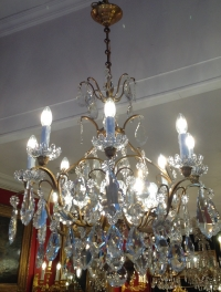 Lustre cage Baccarat