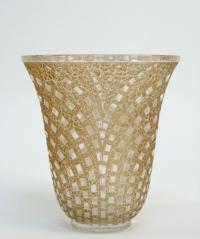 """René Lalique Vase """"Damiers"""""""