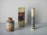 Vicente Vigreyos - 3 céramiques. Vers 1970