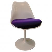 """Saarinen & Knoll, chaise """"Tulipe"""", xxth"""