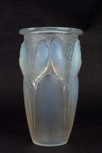 Vase « Ceylan » verre opalescent de René LALIQUE