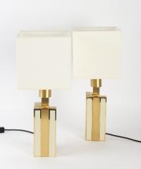Paire de lampes années 60