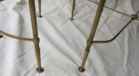 1970′ Table Basse en 3 Parties Style Baguès