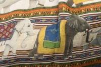 "Grand plaid ""Éléphants"""