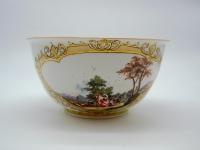 Grand Bol à Crème En Porcelaine De Meissen - XVIIIème