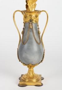 Paire de candélabres Louis XVI