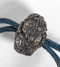 Inro à 3 compartiments en laque or et brune - 17ème siècle.