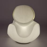 Lampe en verre de Murano vers 1970 Italie