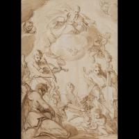 Descente du Saint-Esprit – Entourage d'Abraham Bloemaert (1564 – 1651)