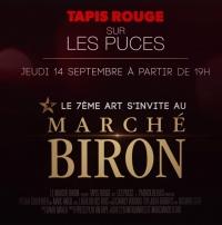 Fête des Puces 2017 - Le 7ème Art s'invite au Marché Biron le jeudi 14 septembre 2017