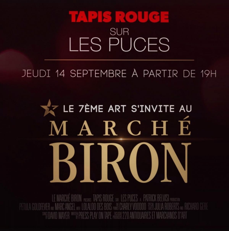 Super Le Marché Biron - Fête des Puces 2017 - Le 7ème Art s'invite au M MI13