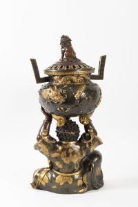 Important Brûle-Parfum japonais en bronze