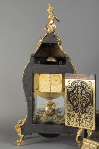 Cartel et sa console d'applique du début de l'époque Louis XV