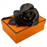 Broche en cuir Hermès