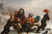 Alexandre-Marie Colin ( Paris 1798 – 1873) Peintre du Romantisme français